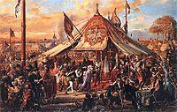 The Republic at Zenith of Power  Golden Liberty  Election A D  1573 , 1889, matejko