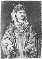 Richensa of Lotharingia, matejko