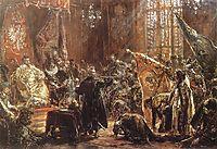 Shuiskiis czars at the Seym in Warsaw, matejko