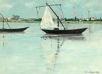 Amont prairie, 1888, maufra