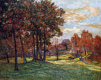 Autumn Landscape at Goulazon, 1900, maufra