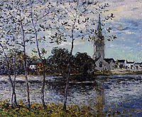 The Banks of the Pond at Rosporden, 1911, maufra