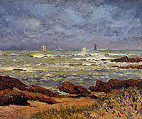 The Barges Lighthouse, 1904, maufra