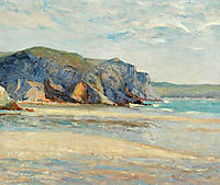 The Beach at Morgat, Finistere, 1899, maufra