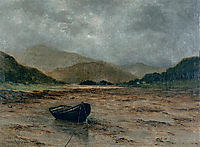 Beached boat, 1882, maufra