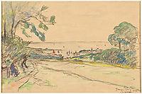 Beuzec-Concq in Concarneau, 1911, maufra