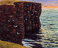 The Black Cliffs at Thurso, 1895, maufra