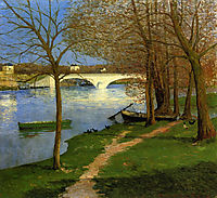 Bridge over the Loire, 1892, maufra