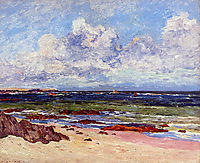 The Coast at Fort Penthievre, Quiberon Peninsula, maufra