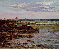 The Coastline in Brittany, maufra
