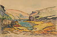 The Conch at Vieux-Chateau, 1905, maufra