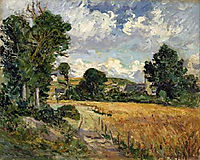 Cornfield in the Valley of Saint-Jean-du-Doigt, maufra
