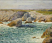 The creek shore of Quibero, 1903, maufra