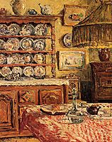 The Dining Room after Lunch, 1914, maufra