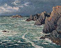 Domois shore (Belle-Ile-en-Mer), maufra