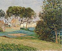 Douarnenez, October landscape, 1896, maufra