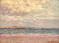 Evening, Morgat Beach, 1902, maufra