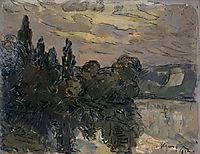 Evening Twilight on the Seine, maufra
