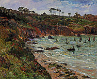 Fishing for Sprats in Winter at Douarnenez, 1905, maufra