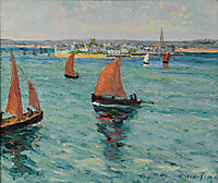 In front of the Isle Tudy, maufra