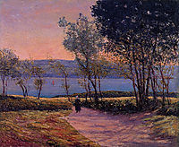 Landscape by the Water, c.1900, maufra