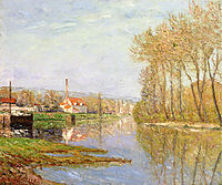 March Sunlight, Port-Marly, 1902, maufra