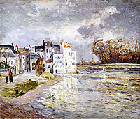 The Marne at Lagny, maufra
