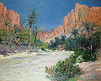 Morning in the Oasis of Alkantra, 1913, maufra