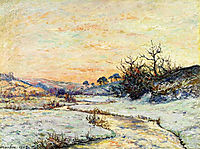 Morning in Winter, 1905, maufra