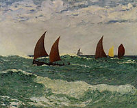 Passing through the Bar, 1898, maufra