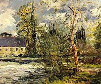 The Ponce Paper Factory on the Edge of the Sathe Woods, 1918, maufra