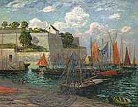 Port castle of Belle-Ile, 1910, maufra