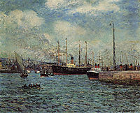 The Port of Havre, 1905, maufra