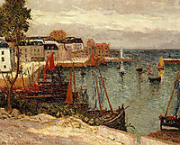 The Port of Sauzon, 1905, maufra