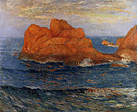 The Red Rocks at Belle Ile, maufra