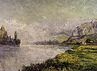 The Retreating Fog, Morning, Les Andelys, 1902, maufra
