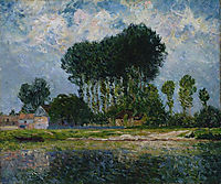 The River, 1902, maufra