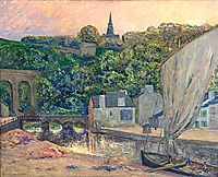 The River Rance at Dinard, maufra