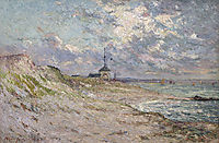 Semaphore of the Beg-Meil, Brittany, 1904, maufra