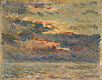 Sunset on the Sea, 1910, maufra