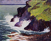 The Three Cliffs, 1894, maufra