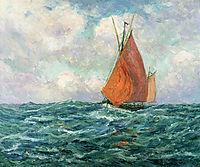 Tuna Boat at Sea, 1907, maufra