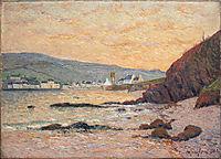 The Village, Morgat, 1901, maufra