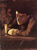 Absinth Drinker, 1898, mednyanszky