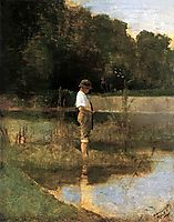 Angler, 1890, mednyanszky