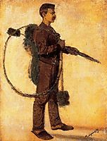 Chimney-sweeper (Carrier of Luck), 1918, mednyanszky