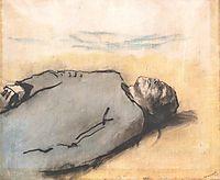 Fallen Russian Soldier, 1917, mednyanszky