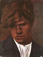 Head of a Boy, 1890, mednyanszky