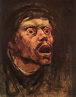 Head of a Tramp, 1896, mednyanszky