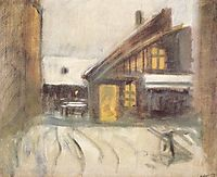 House at Dusk, 1910, mednyanszky